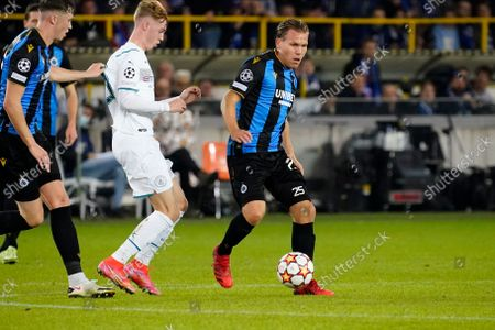 Editorial picture of Club Brugge v Manchester City, UEFA Champions League, Group A, Football, Jan Breydelstadion, Bruges, Belgium - 19 Oct 2021