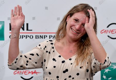 Stock Picture of Clara Roquet poses during a photocall for the movie 'Libertad' at the 16th annual Rome International Film Festival, in Rome, Italy, 19 October 2021. The film festival runs from 14 to 24 October.