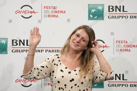 Stock Photo of Director Clara Roquet poses during a photo call for the movie Libertad at the 16th edition of the Rome Film Fest in Rome
