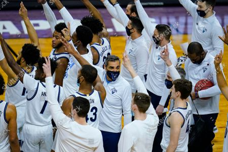 Villanova has dominated the Big East over the last decade under the guidance of coach Jay Wright. The fourth-ranked Wildcats were the unanimous choice to win the conference in a preseason coaches poll released Tuesday, Oct. 19, 2021