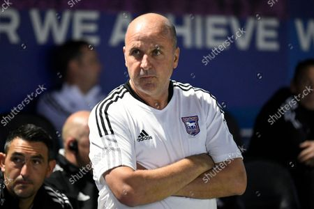 Ipswich Town manager Paul Cook  during the EFL Sky Bet League 1 match between Portsmouth and Ipswich Town at Fratton Park, Portsmouth