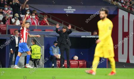 Editorial image of Atletico Madrid v Liverpool, UEFA Champions League, Group B, Football, Estadio Metropolitano, Madrid, Spain - 19 Oct 2021