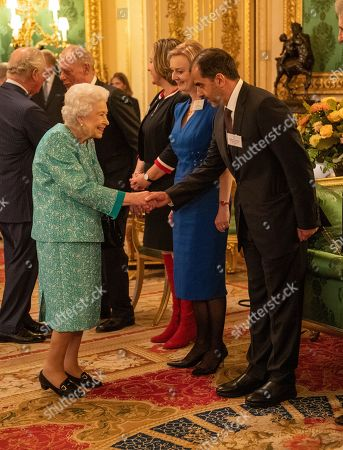 Queen Elizabeth II and members of the Royal Family, hosted a reception for international business and investment leaders at Windsor Castle to mark the Global Investment Summit. Queen Elizabeth II, Prince Charles, Prince William, The Duke and Duchess of Gloucester and Prince Michael of Kent received the Prime Minister and attendees of the Global Investment Summit at Windsor Castle. Her Majesty and the Members of the Royal Family then met guests in St George's Hall