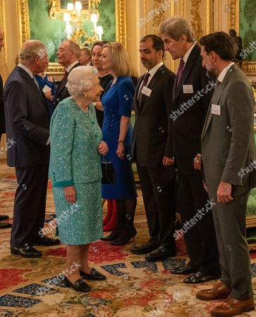 Queen Elizabeth II Meets John Kerry