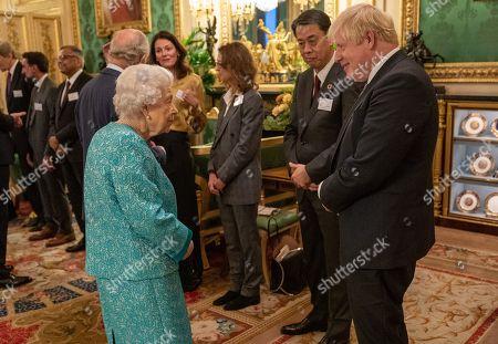 Queen Elizabeth II meets Prime Minister Boris Johnson