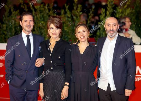 Melvin Poupad, Fanny Ardant, director Carine Tardieu and Antoine Rein
