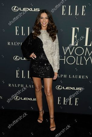 Stock Photo of Terri Seymour arrives at the 27th annual ELLE Women in Hollywood celebration, at the Academy Museum of Motion Pictures in Los Angeles