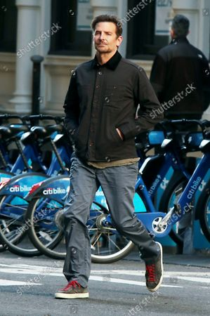 Bradley Cooper seen walking around Soho in New York City