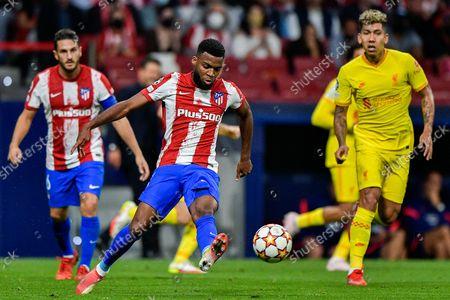 Thomas Lemar of Club Atletico de Madrid