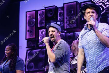 'Freestyle Love Supreme' curtain call - Lin-Manuel Miranda and Anthony Veneziale