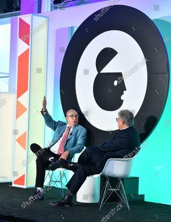 Barry Sonnenfeld, Director and Producer and Matt Scheckner, Advertising Week, Global CEO