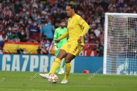 Virgil van Dijk of FC Liverpool