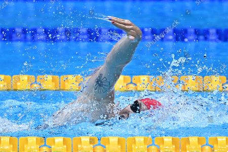 Editorial picture of Olympics swimming, Tokyo, Japan - 31 Jul 2021