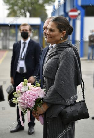 Crown Princess Victoria visits SKF Airasca in Turin, Italy