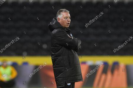 Manager Darren Ferguson of Peterborough United