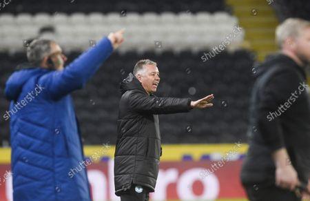 Editorial picture of Hull City v Peterborough United, EFL Sky Bet Championship, Football, KC Stadium, Hull, UK - 20 Oct 2021
