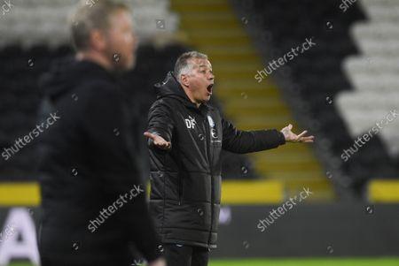 Stock Photo of Manager Darren Ferguson of Peterborough United