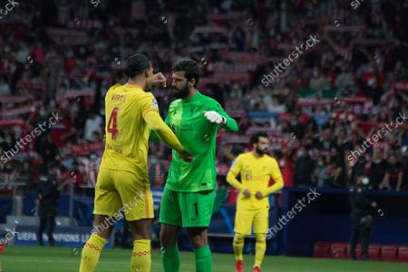 Editorial photo of Atletico de Madrid - Liverpool Champions League Group B, Spain - 19 Oct 2021