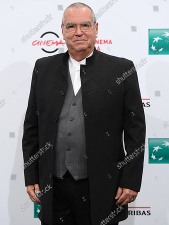 Carlo Siliotto poses during a photocall for the movie 'Qazaq. History of the Golden Man' at the 16th annual Rome International Film Festival, in Rome, Italy, 20 October 2021. The Festa Del Cinema Di Roma runs from 14 to 24 October.