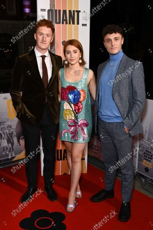 Will Merrick, Phoebe McNally and guest