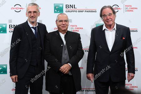 Igor Lopatonok, Oliver Stone, Carlo Siliotto