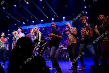 Editorial picture of Photos: The Cast of FREESTYLE LOVE SUPREME Takes Opening Night Bows, New York, America - 19 Oct 2021