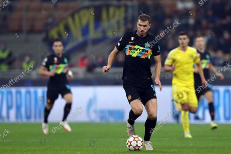 Editorial image of Fc Internazionale v FC Sheriff, Champions League football match, Milan, Italy - 19 Oct 2021