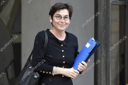 Stock Image of French Seas Minister Annick Girardin