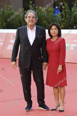 Oliver Stone and Sun-jung Jung