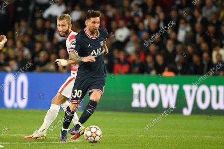 Editorial picture of Paris Saint-Germain v RB Leipzig, Champions League football match, Paris, France - 19 Oct 2021