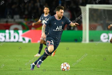 Editorial image of Paris Saint-Germain v RB Leipzig, Champions League football match, Paris, France - 19 Oct 2021