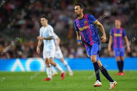 Sergio Busquets of FC Barcelona