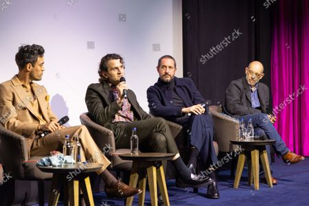 """Alex Hassell, Harry Melling, Bertie Carvel and Bruno Delbonnel attend Apple's special screening and Q+A of """"The Tragedy Of Macbeth"""" at The Ham Yard Hotel. Apple and A24's """"The Tragedy Of Macbeth"""" will premiere in select UK cinemas in December and globally on Apple TV+ January 14, 2022."""