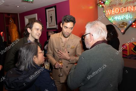 """Alex Hassell and Harry Melling attend Apple's special screening and Q+A of """"The Tragedy Of Macbeth"""" at Picturehouse Central. Apple and A24's """"The Tragedy Of Macbeth"""" will premiere in select UK cinemas in December and globally on Apple TV+ January 14, 2022."""