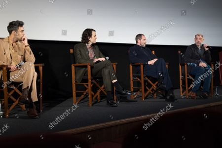 """Corey Hawkins, Kathryn Hunter, Alex Hassell, Harry Melling, Bertie Carvel and Bruno Delbonnel attends Apple's special screening and Q+A of """"The Tragedy Of Macbeth"""" at Picturehouse Central. Apple and A24's """"The Tragedy Of Macbeth"""" will premiere in select UK cinemas in December and globally on Apple TV+ January 14, 2022."""