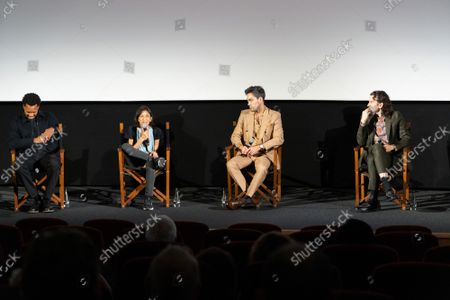 """Corey Hawkins, Kathryn Hunter, Alex Hassell and Harry Melling attend Apple's special screening and Q+A of """"The Tragedy Of Macbeth"""" at Picturehouse Central. Apple and A24's """"The Tragedy Of Macbeth"""" will premiere in select UK cinemas in December and globally on Apple TV+ January 14, 2022."""