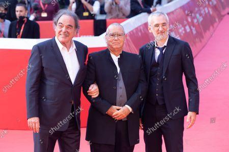 Igor Lopatonok, Carlo Siliotto and Oliver Stone