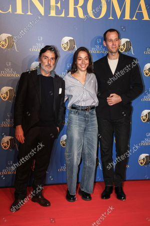 Yvan Attal, Suzanne Jouannet, Benjamin Laverhne of the French Comedy