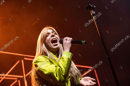 Editorial picture of Becky Hill in concert, O2 Academy Bournemouth, Bournemouth, UK - 20 Oct 2021