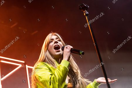 Editorial photo of Becky Hill in concert, O2 Academy Bournemouth, Bournemouth, UK - 20 Oct 2021