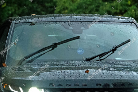 Editorial image of Exclusive - Louise Redknapp is seen out and about in her Range Rover, Surrey, UK - 20 Oct 2021