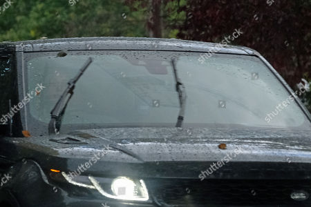 Exclusive - Louise Redknapp is seen leaving her Surrey home today after her ex husband Jamie got married earlier this week.