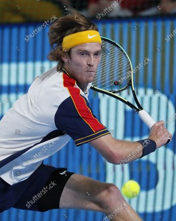 Editorial photo of Kremlin Cup tennis tournament in Moscow, Russian Federation - 21 Oct 2021