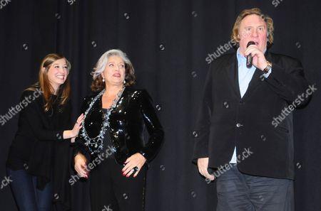 Alexandra Maria Lara, Francoise Fabian, Gerard Depardieu