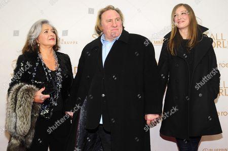 Francoise Fabian, Gerard Depardieu, Alexandra Maria Lara