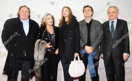 Gerard Depardieu, Francoise Fabian, Alexandra Maria Lara, Director Bruno Chiche, French Ambassador Bernard De Montferrand