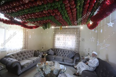 Editorial picture of Sukkot in the West Bank, Nablus - 21 Oct 2021