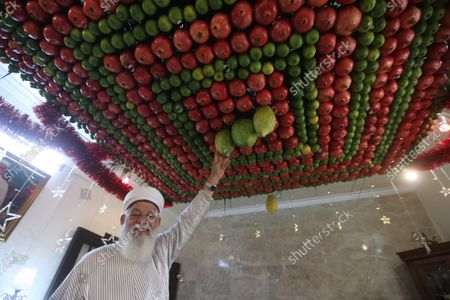 Editorial photo of Sukkot in the West Bank, Nablus - 21 Oct 2021