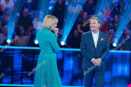 Stock Picture of Kaye Adams and Bradley Walsh.