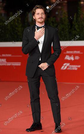 Antonio Folletto arrives for the screening of 'A casa tutti bene - La serie' at the 16th annual Rome International Film Festival, in Rome, Italy, 21 October 2021. The Festa Del Cinema Di Roma runs from 14 to 24 October.